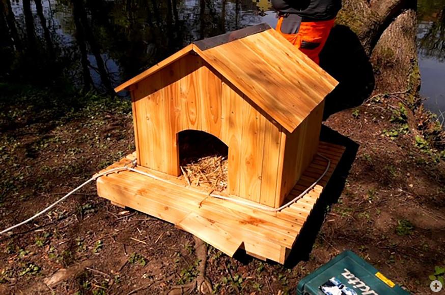 Ein schönes Heim für Enten. (Fotos: privat)