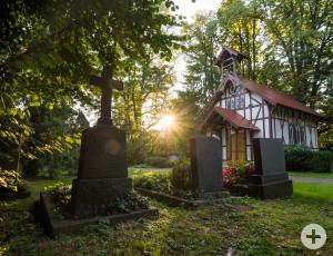 Die Kapelle auf dem Alten Friedhof in Schorndorf