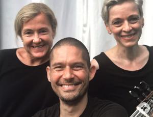 Das Team hinter der Konzertreihe: Nicole Schock, Rüdiger Kurz und Julia Voit (v.l.).