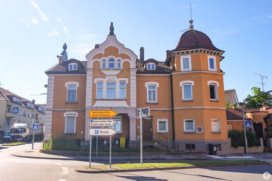 Das Reinhold-Maier-Geburtshaus wird saniert.