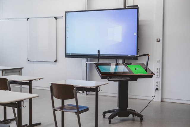 Digitales Klassenzimmer mit Dokumentenkamera