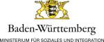 Logo des Ministeriums für Soziales und Integration Baden-Württemberg mit weißem Hintergrund