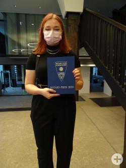 Emma Schönleben mit dem Rotary Schülerpreis