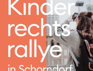 Logo Kinderrechtsrallye in Schorndorf