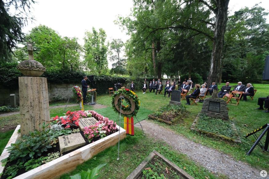 Gedenkfeier auf dem Alten Friedhof