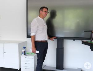 Digitalisierung in der Gottlieb-Daimler-Realschule.