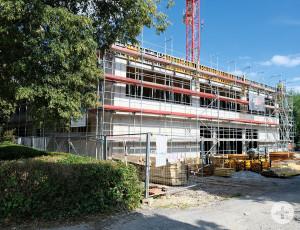 Neubau der Grundschule Rainbrunnen.