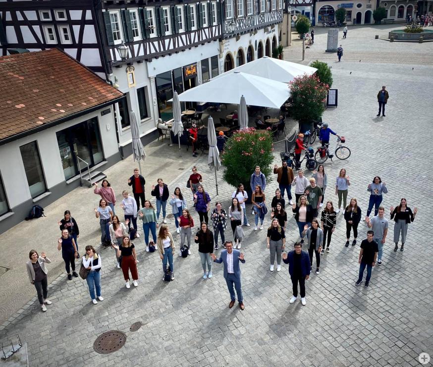 Die Stadtverwaltung begrüßt 41 neue Gesichter