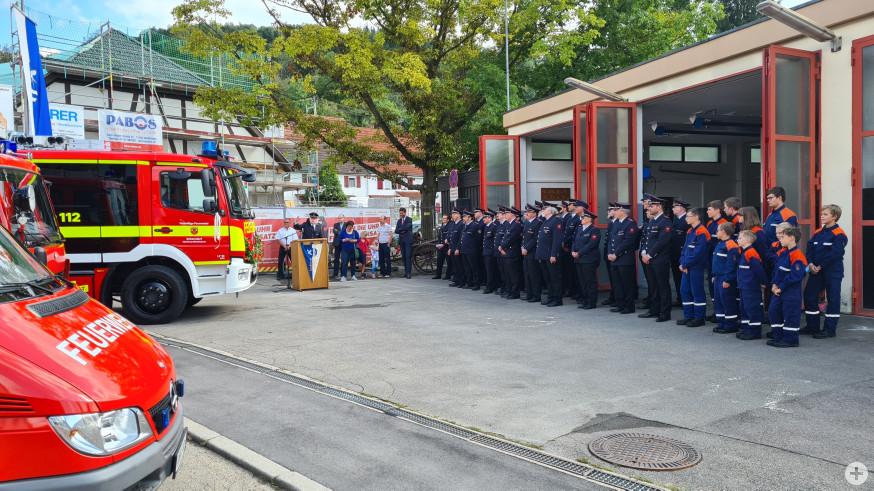 Die Feuerwehr Miedelsbach: Aktive, Alterswehr und Jugendfeuerwehr