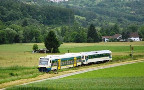 Die Schwäbische Waldbahn mit ihrer historischen Dampflokomotive