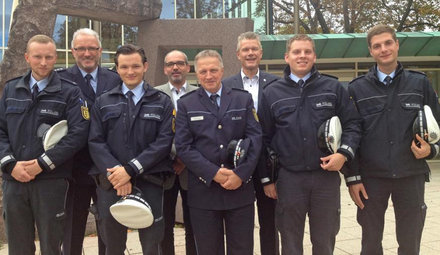 Polizisten kennenlernen