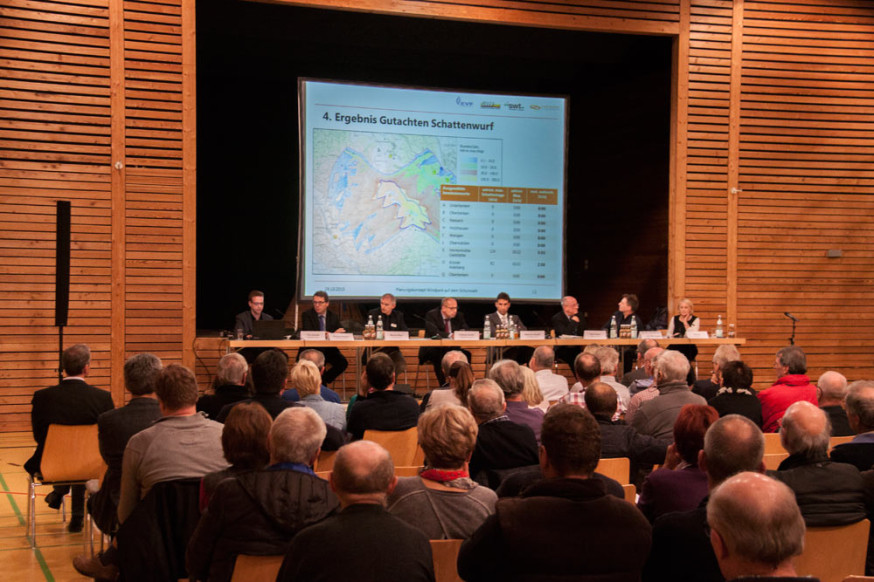 Informationsveranstaltung zur Windkraft in Oberberken